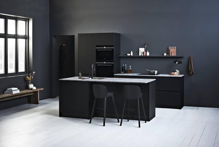 Zwart Keuken Kvik : Prato black by kvik keuken badkamer & garderobe homify