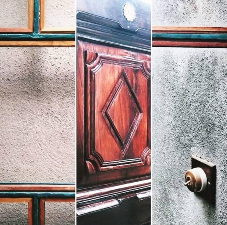 Rima and Devaiah's Residence :  Houses by Sandarbh Design Studio