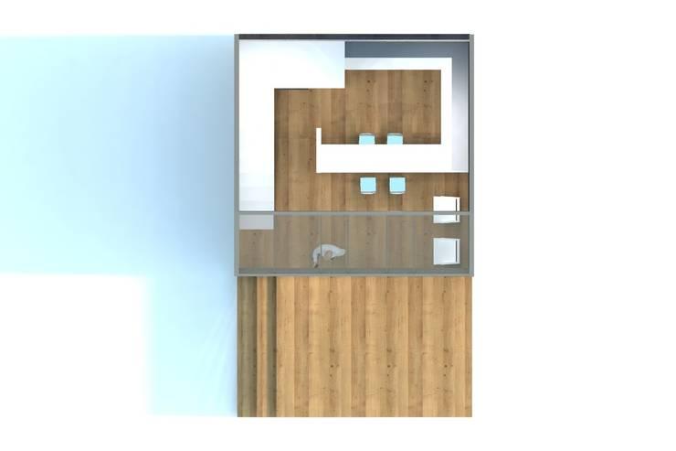 Planta general piso 1:  de estilo  por Incove Ingeniería y Construcción