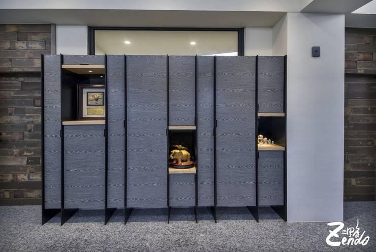 山之音:  書房/辦公室 by Zendo 深度空間設計