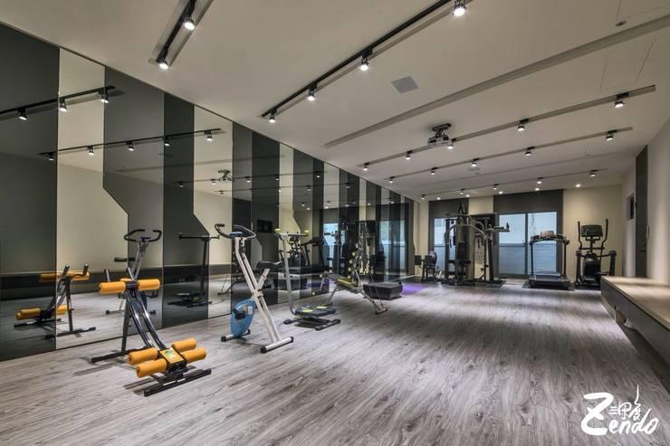 山之音 - 住宅空間:  健身房 by Zendo 深度空間設計