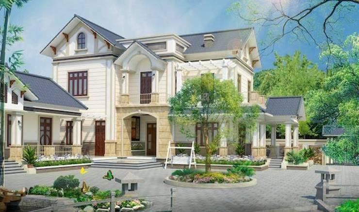 Thi công trọn gói biệt thự ở Phú Thọ:   by Xây nhà trọn gói