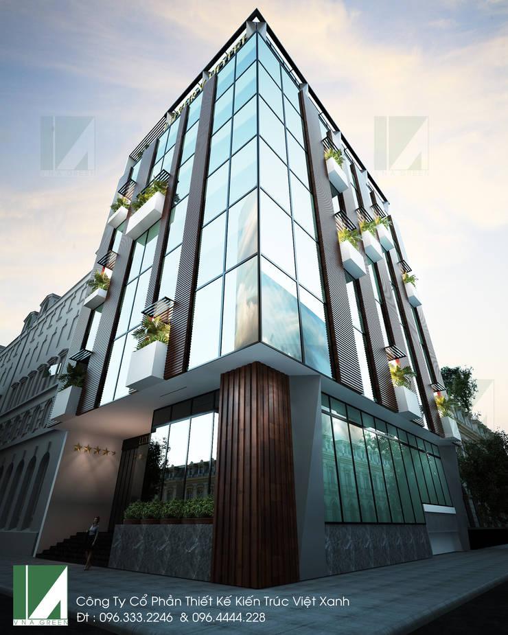 KHÁCH SẠN 7 TẦNG - 193 VĂN CAO - HẢI PHÒNG:   by công ty cổ phần Thiết kế Kiến trúc Việt Xanh