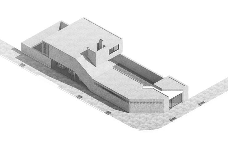 Vivienda AyP: Casas unifamiliares de estilo  por Vozza Arquitectura