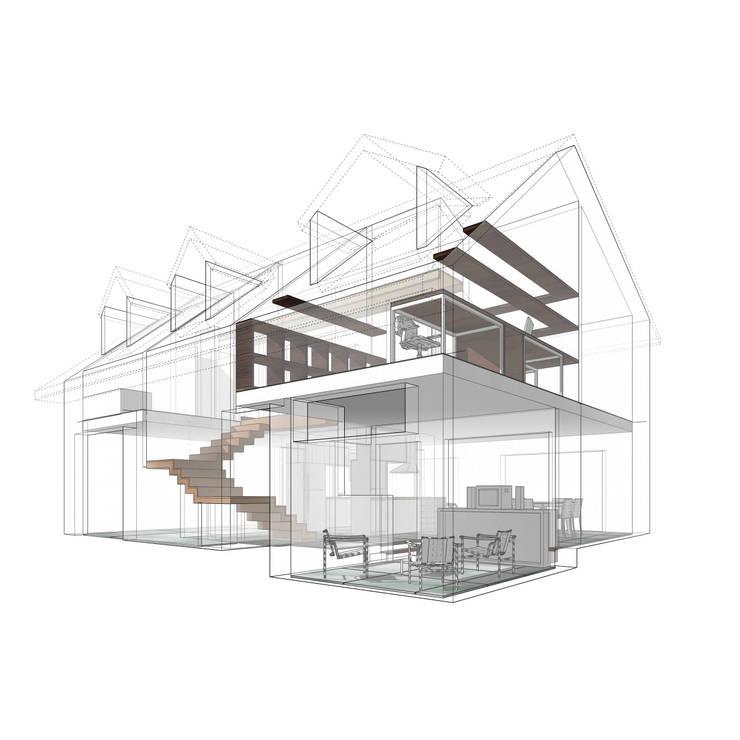 Remodelación – VI CH:  de estilo  por Vozza Arquitectura,