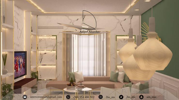 غرفة المعيشة تنفيذ Amjad Alseaidan