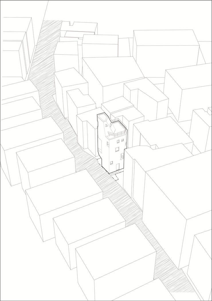 천연동 협소주택 [틈]: (주)건축사사무소 더함 / ThEPLus Architects의