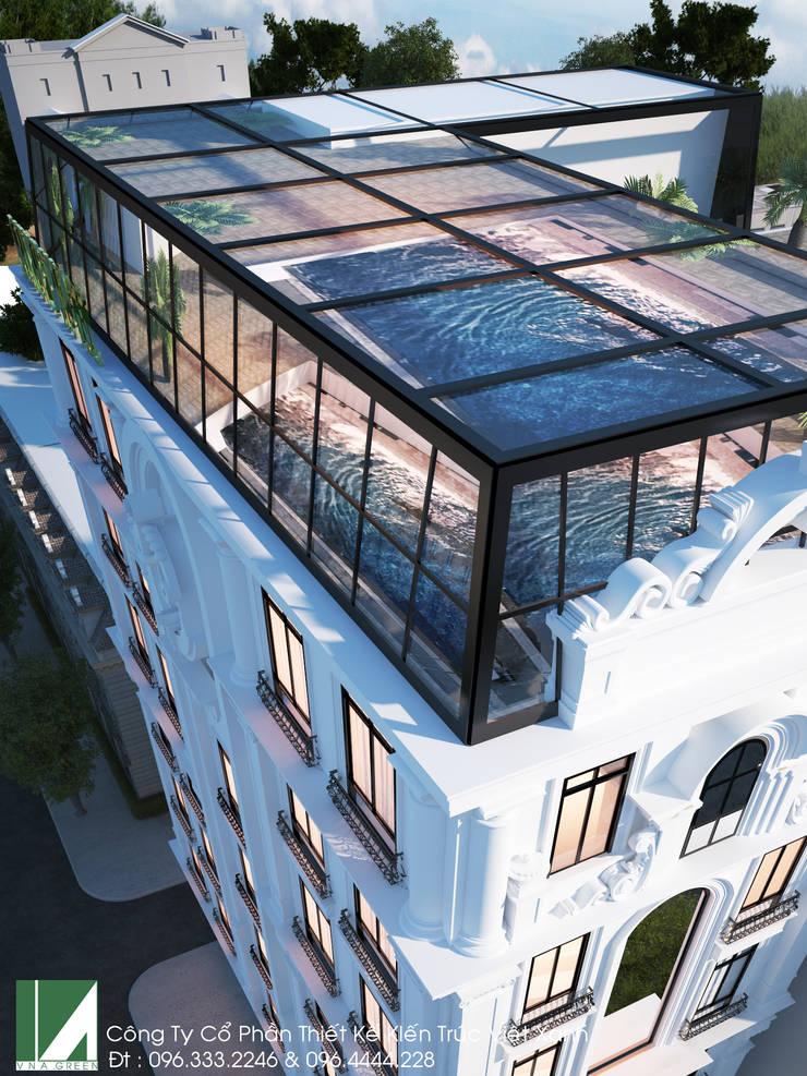 KHÁCH SẠN 7 TẦNG – TÂN CỔ ĐIỂN :   by công ty cổ phần Thiết kế Kiến trúc Việt Xanh