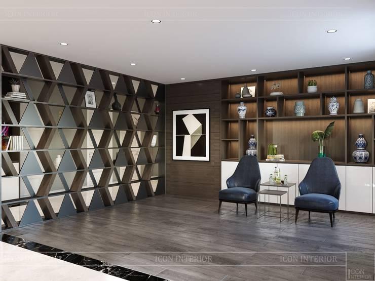 Thiết kế nội thất biệt thự hiện đại – Sang trọng đẳng cấp:  Phòng giải trí by ICON INTERIOR