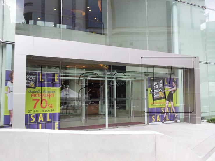 ประตูทางเข้า เซ็นทรัลพระราม 9 :  Shopping Centres by plan mission project