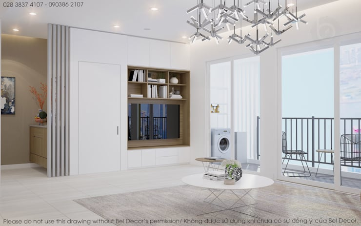 HO1885 Apartment - Bel Decor:   by Bel Decor