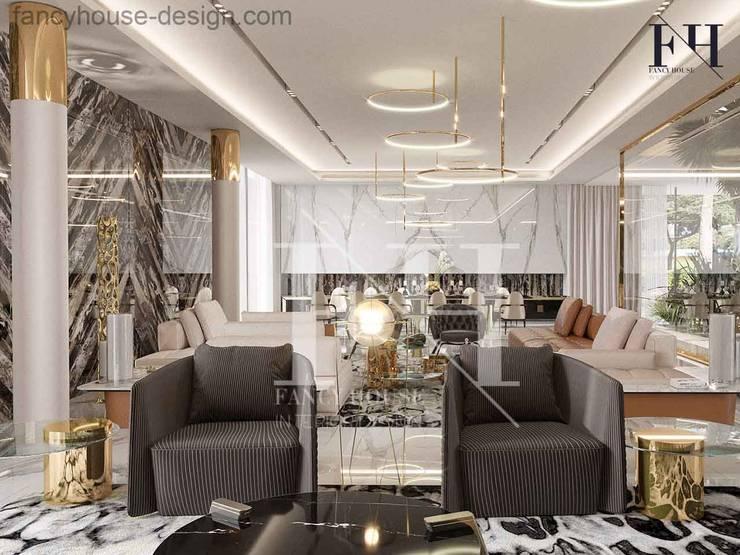 . Modern villa interior design in Dubai UAE by Fancy House Design   homify