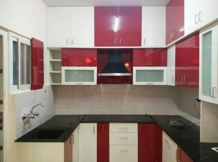 Kitchen by Imam interior and construction pvt ltd