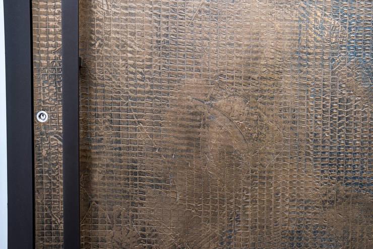 TEXTURED BRONZE FINISH :  Doors by RK Door Systems,