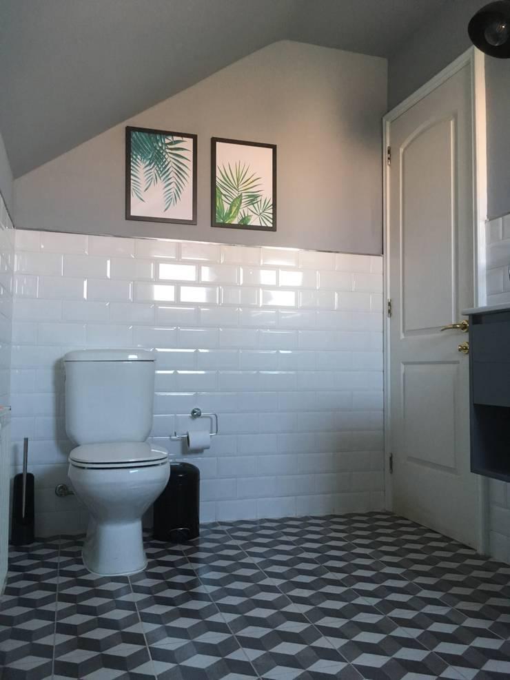 PROYECTO TERMINADO:  de estilo  por R-Innovare / Diseño de interiores y Arquitectura / Santiago y Viña del mar