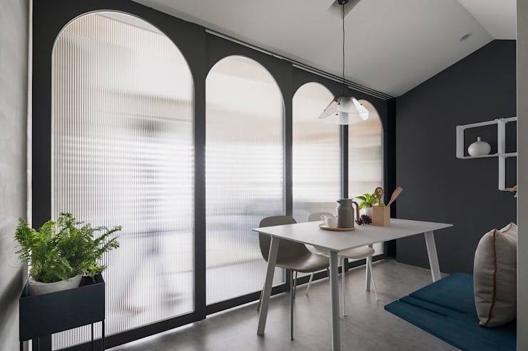 Liho你好:  餐廳 by 寓子設計, 北歐風