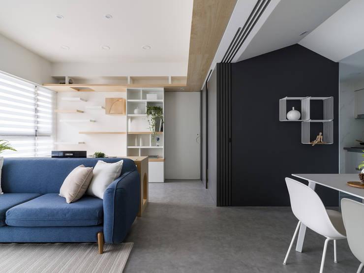 Koridor dan lorong oleh 寓子設計, Skandinavia