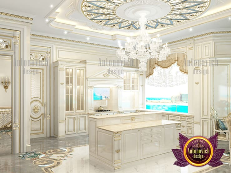 """Excellent Gorgeous Kitchen Design in Saudi Arabia: {:asian=>""""asian"""", :classic=>""""classic"""", :colonial=>""""colonial"""", :country=>""""country"""", :eclectic=>""""eclectic"""", :industrial=>""""industrial"""", :mediterranean=>""""mediterranean"""", :minimalist=>""""minimalist"""", :modern=>""""modern"""", :rustic=>""""rustic"""", :scandinavian=>""""scandinavian"""", :tropical=>""""tropical""""}  by Luxury Antonovich Design,"""