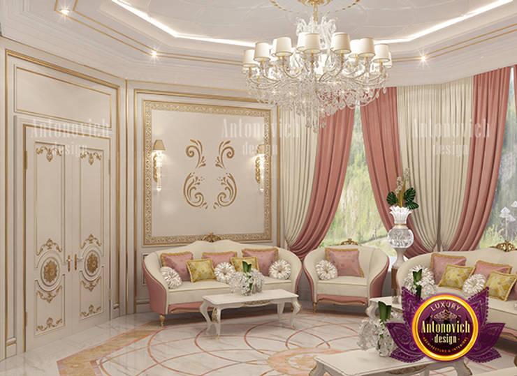 Quality Luxury Majlis for Women in UAE:   by Luxury Antonovich Design