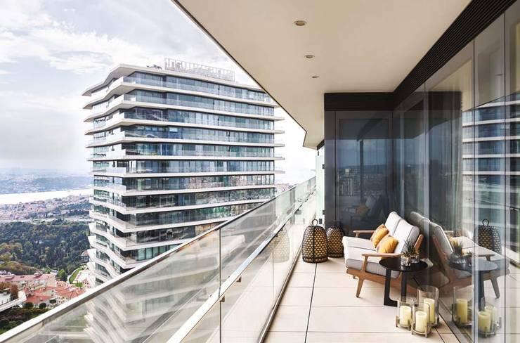 Balcony by Sonraki Mimarlık Mühendislik İnş. San. ve Tic. Ltd. Şti.