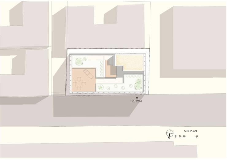 경운동 근린생활시설 – 전망(Brick Mesh): (주)건축사사무소 더함 / ThEPLus Architects의