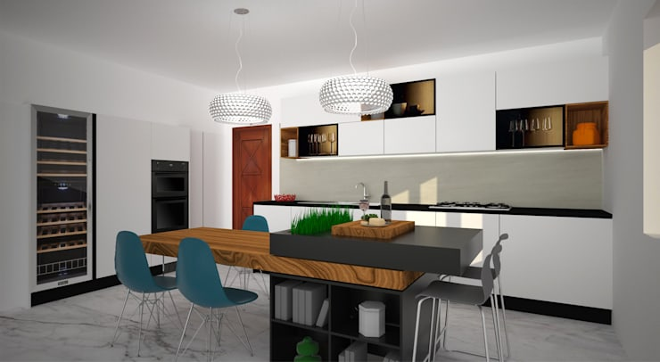 Cucina: Cucina in stile  di B+P architetti