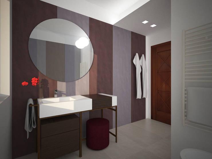 Bagno: Bagno in stile  di B+P architetti
