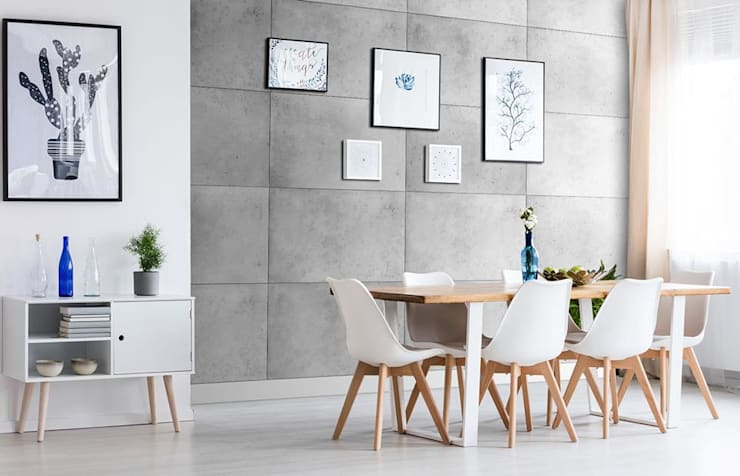 Dining room by Loft Design System Deutschland - Wandpaneele aus Bayern