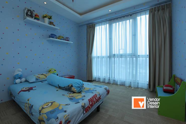 Kamar tidur anak perempuan :  Kamar tidur kecil by PT Solusi Eka Optima
