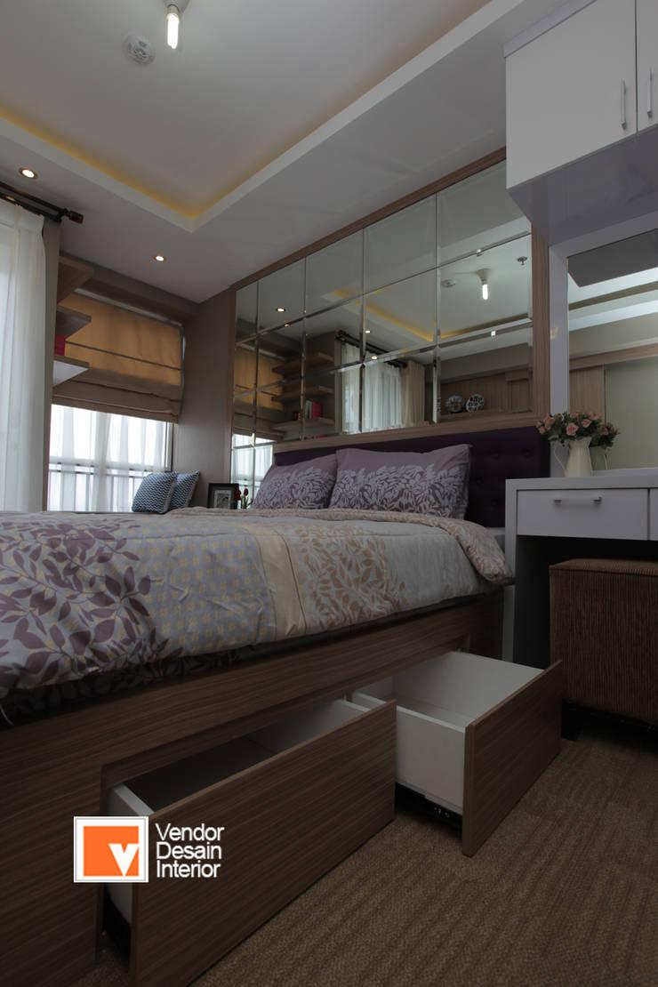 Kamar tidur utama :  Kamar Tidur by PT Solusi Eka Optima