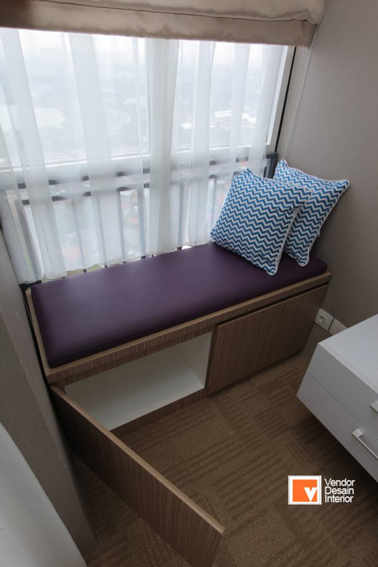 Apartment Bapak Sadeko di Apartemen Tifolia :  Kamar Tidur by PT Solusi Eka Optima