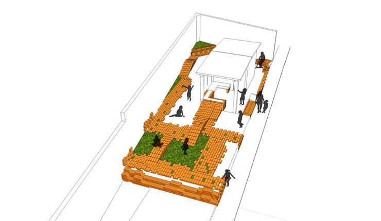 Diagrama del planteamiento de la propuesta:  de estilo  por Arq Stephanny Reyes