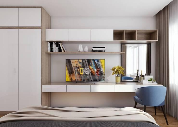 nội thất phòng ngủ master:  Phòng ngủ by Công ty TNHH Nội Thất Mạnh Hệ