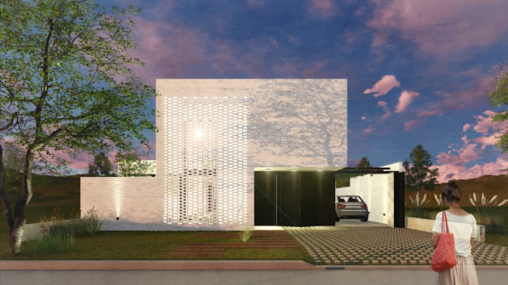 Single family home by VP Arquitectura, Modern Bricks