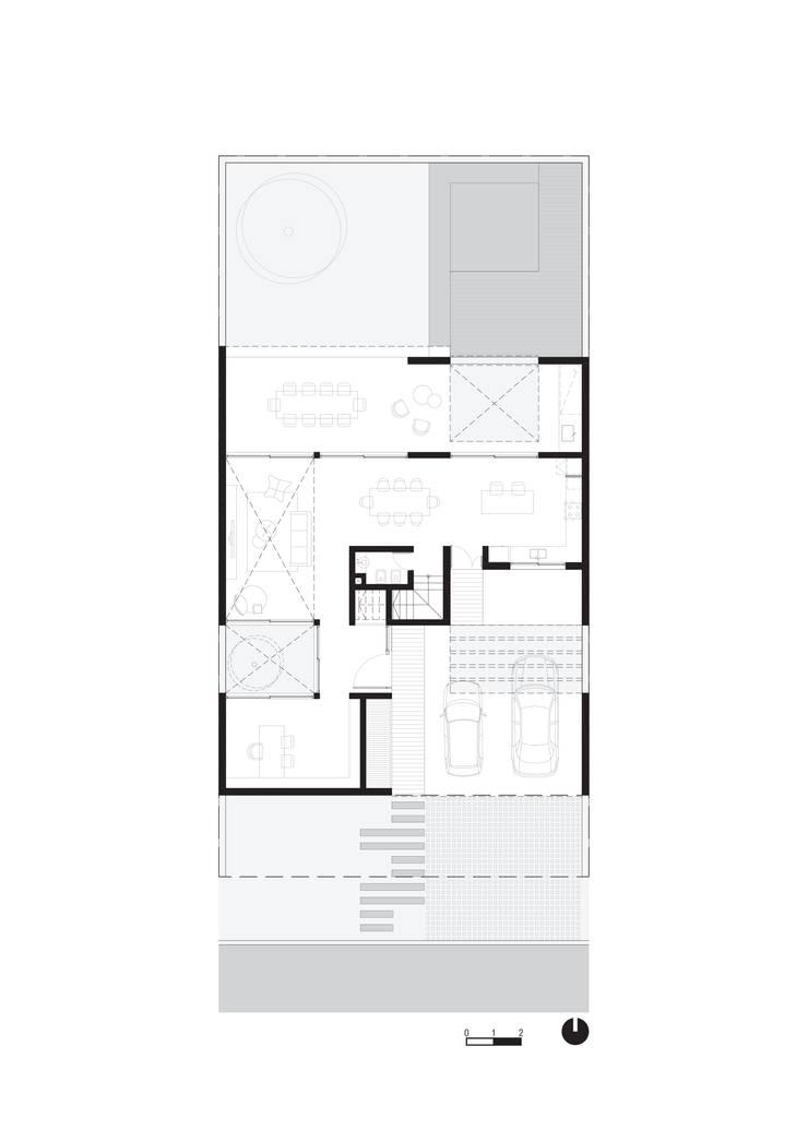 Einfamilienhaus von VP Arquitectura, Modern Ziegel