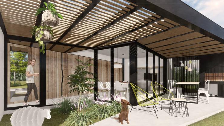 Casa CT: Quinchos de estilo  por VP Arquitectura