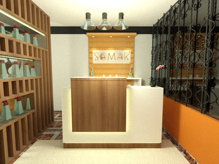 Projekty,  Sauna zaprojektowane przez Inspira