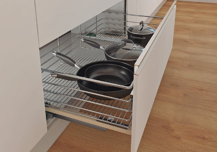modern  by Remodelar Proyectos Integrales, Modern Iron/Steel