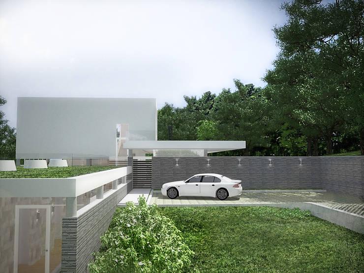 Sonoma: Garajes abiertos de estilo  por RRA Arquitectura