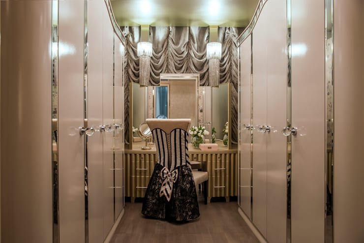 Dressing room by Design Intervention