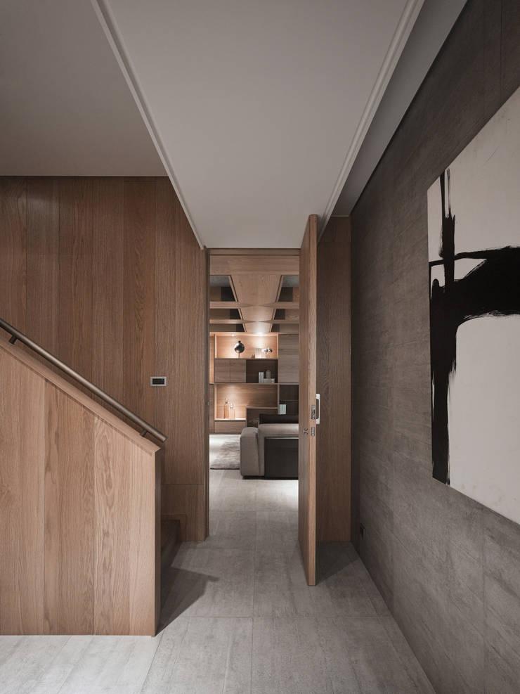 誠泰大院_框景之家:  樓梯 by 形構設計 Morpho-Design