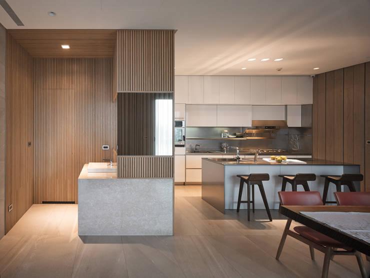 誠泰大院_框景之家:  廚房 by 形構設計 Morpho-Design