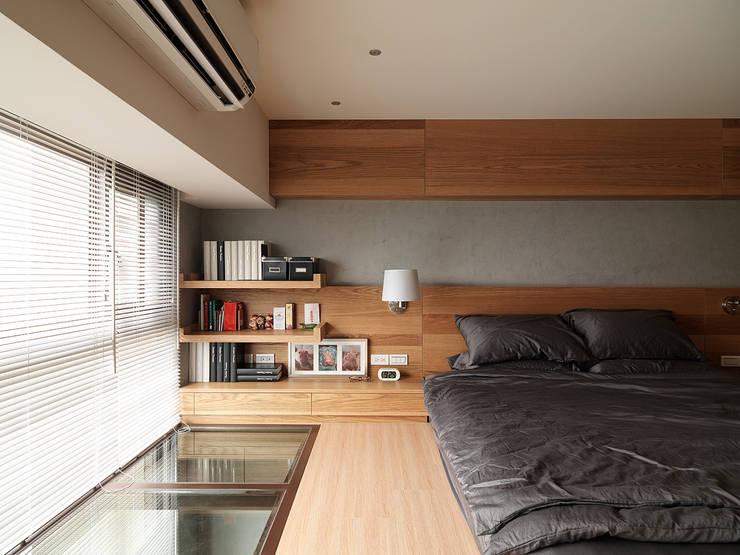 ห้องนอน โดย 形構設計 Morpho-Design,