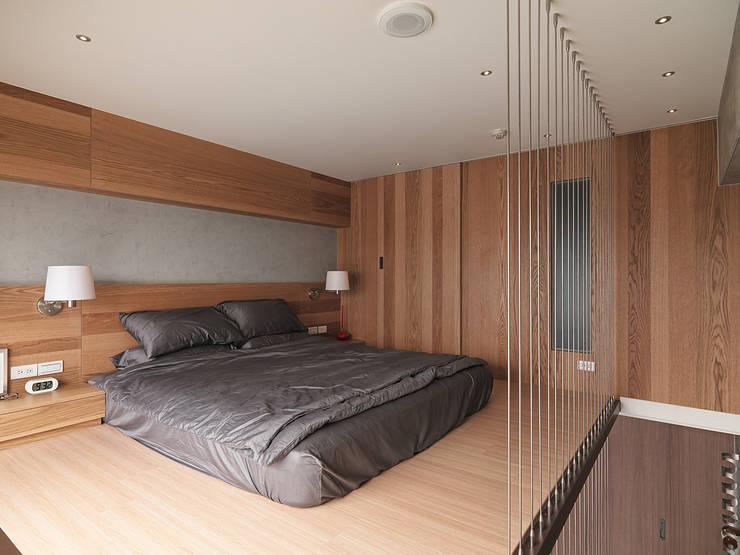 Kamar Tidur oleh 形構設計 Morpho-Design