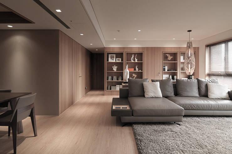 FRAME:  走廊 & 玄關 by 形構設計 Morpho-Design