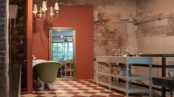 Badezimmer im Nostalgie Stil von Traditional Bathrooms GmbH ...