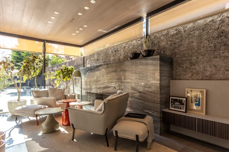 Casa FOA 2018 : Livings de estilo  por Estudio Viviana Melamed,