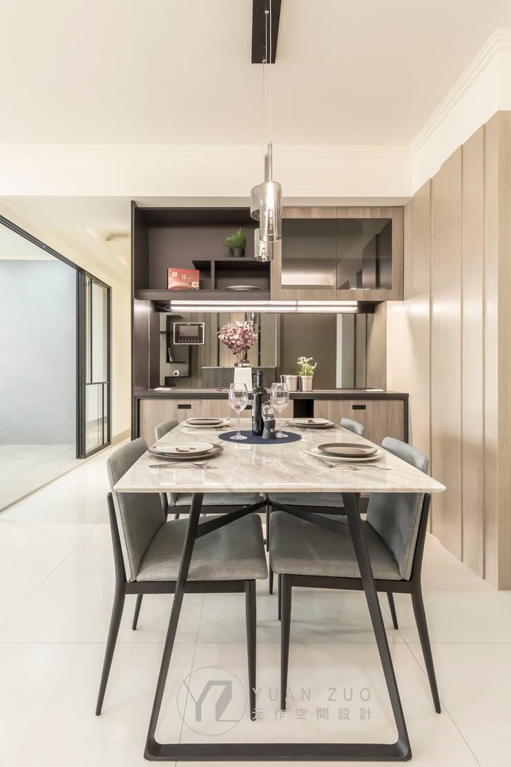 JIAN House:  餐廳 by 元作空間設計