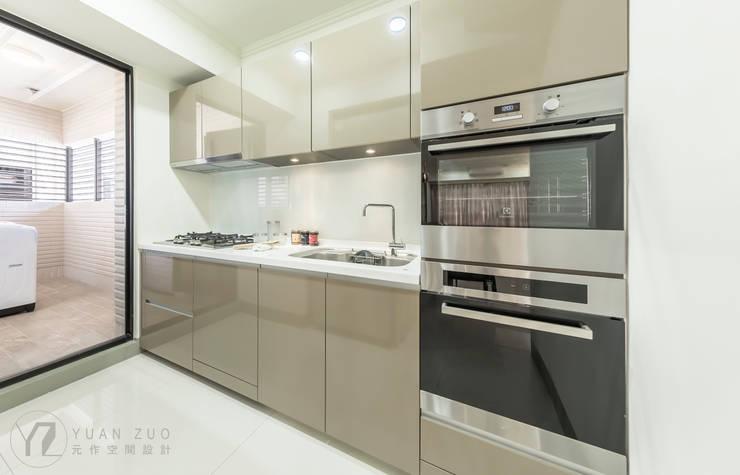JIAN House:  廚房 by 元作空間設計