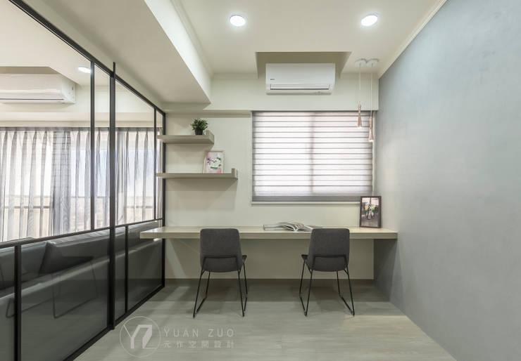 JIAN House:  書房/辦公室 by 元作空間設計